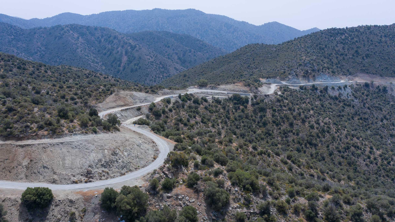 Construction of Phase A  of the Germasoyia-Akrounda-Dhierona-Arakapas Road