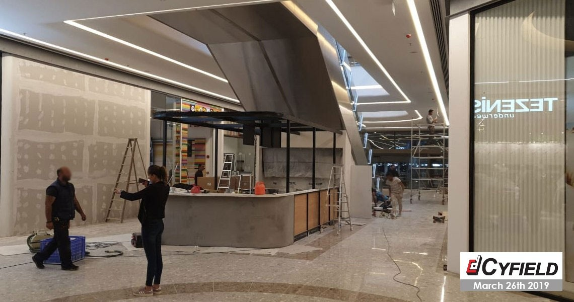 The expansion of The Mall of Cyprus
