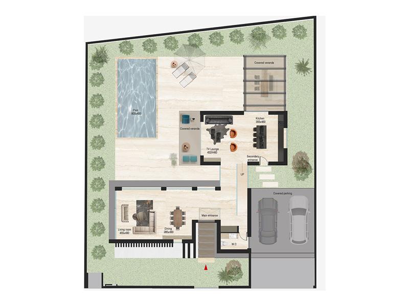 Gardens House D340