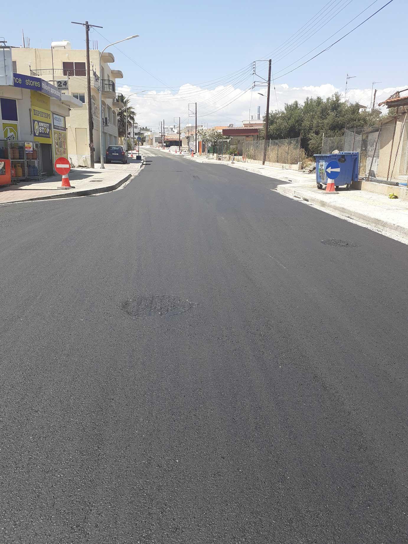 Improvement of Archibishop Makarios III Ave in Ipsonas, Limassol – Phase A